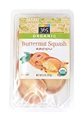 365 Everyday Value, Organic Butternut Squash Ravioli, 8 oz, (Frozen)