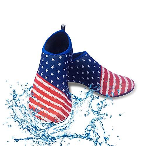 Men Women Water Sport Shoes,Barefoot Quick-Dry Aqua Yoga Socks for Beach Swim Surf