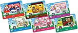 6 Pcs ACNH NFC Mini Tag Game Cards Sanrio Collaboration Pack RV Villager Furniture Compatible with Switch for Animal New Horizons