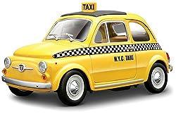 フィアット500 タクシー (1/24 ダイキャストミニカー)