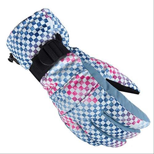 AMZIJ GlovesSnowboard Ski Handschuhe Unisex Winddicht Wasserdicht Teens Atmungsaktiv Winter Warm Skifahren Radfahren Schnee Frauen Männer Handschuh S NO.9