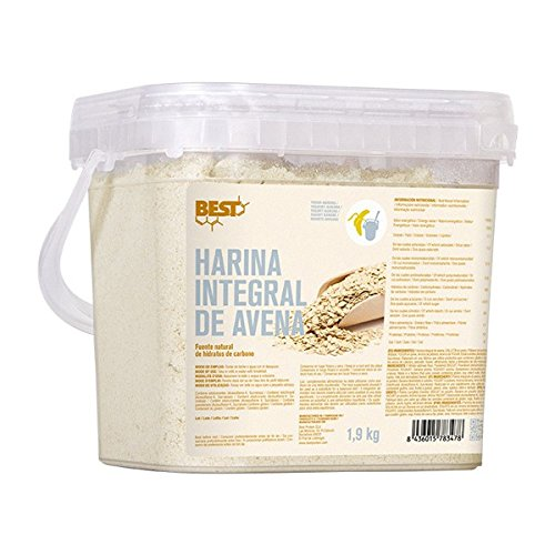 BEST PROTEIN - FARINE D'AVOINE INTEGRALE - 1,9 kg. neutre