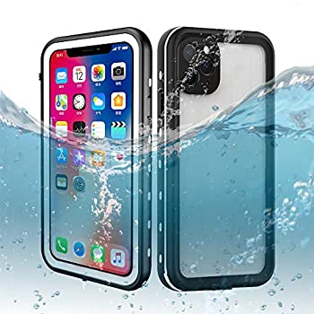 DOOGE iPhone 11 Pro Max Waterproof Case IP69K Shockproof/Dirtproof/Snowproof Full-Sealed Full-Body Heavy Duty Protective Case Built-in Screen Protector for iPhone 11 Pro Max 6.5 Inch