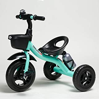 COOL-Series Kids Trike Toddlers Children Tricycle Stroller Trike 3 Wheel Pedal Bike Multicolor for 2 3 4 5 Years Old Boys Girls Indoor & Outdoor with Storage Bin and Cup Holder