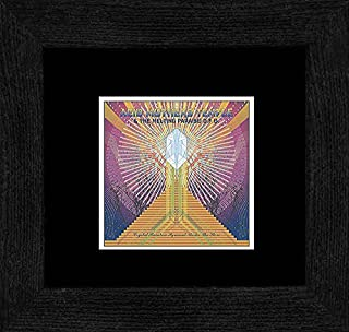 Stick It On Your Wall Acid Mothers Temple & The Melting Paraiso UFO - Crystal Rainbow Pyramid Under The Stars 2007 Framed Mini Poster - 18x18cm