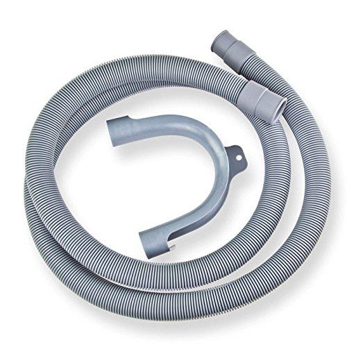 Stabilo-Sanitaer Ablaufschlauch 19/22 mm Abwasserschlauch 1,5 m Waschmaschine Spülmaschine Schlauch Kunststoff Wasserschlauch Ablaufschläuche Abwasserablaufschlauch