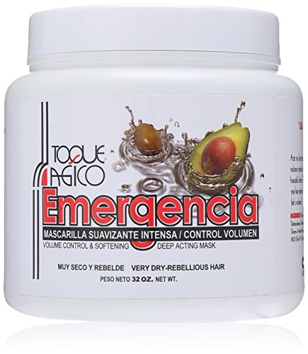 Toque Magico Emergencia Volume Control and Softening Deep Acting Mask, 32 Ounce
