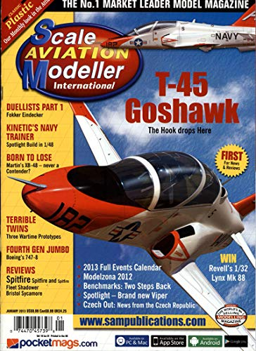 Scale Aviation Modeller International [Abonnement jeweils 12 Ausgaben jedes Jahr]