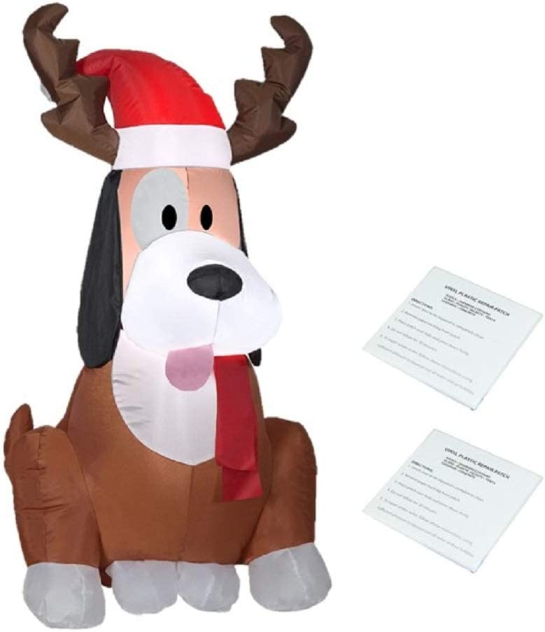 Visit the Gemmy 送料無料カード決済可能 Store Holiday お見舞い Time Whimsey Dog with Ant Reindeer