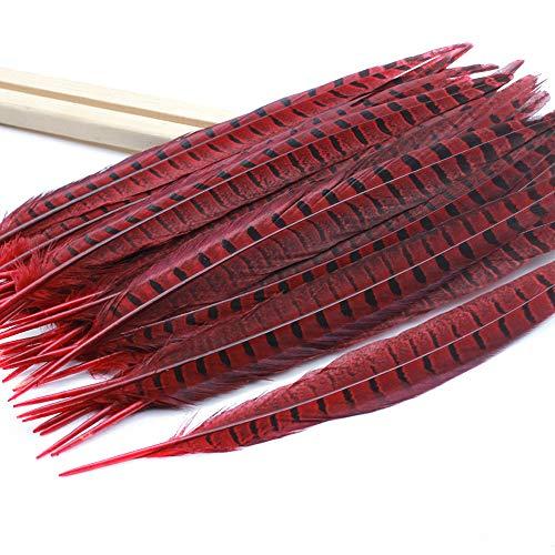 BLEVET 50PCS plumas de cola de faisán naturales 30-35cm decoración para boda, fiestas de...