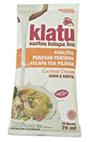 Klatu サンタンクラパトゥア - ココナッツクリームパウダー、70ml(24パック)