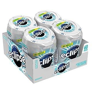 ECLIPSE Gum Polar Ice Sugar Free Chewing Gum 60-Piece Bottle (4 Pack) (B001D3K2AG) | Amazon price tracker / tracking, Amazon price history charts, Amazon price watches, Amazon price drop alerts