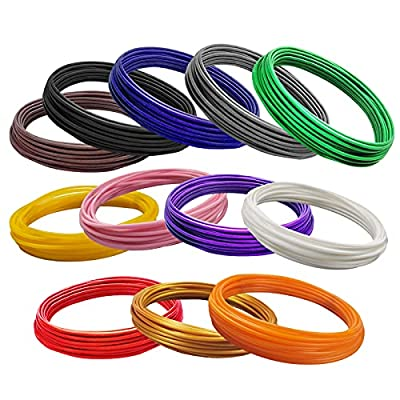 OVERTURE PLA Filament 1.75mm with 3D Build Surface 200mm ?? 200mm 3D Printer Consumables, 1kg Spool (2.2lbs), Dimensional Accuracy +/- 0.05 mm, Fit Most FDM Printer