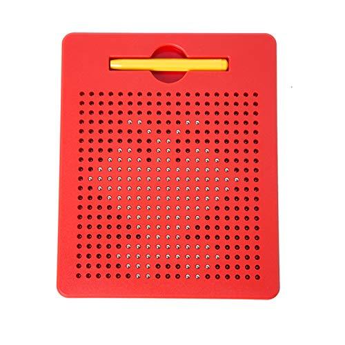 Henreal Tablett, magnetisch, Zeichnung, Zeichenbrett mit Magnet, für Kinder Petit Tableau Rouge