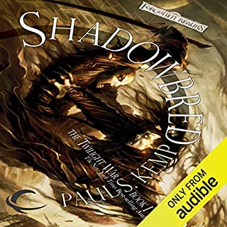 Shadowbred audiobook cover art