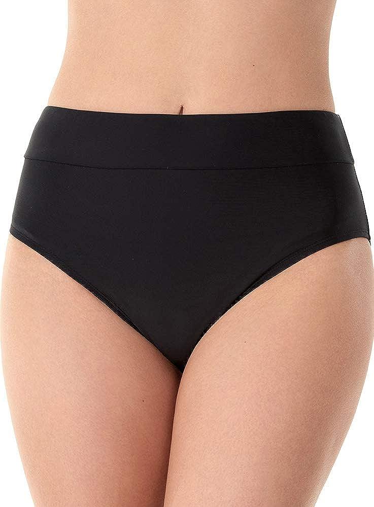Caribbean Joe Women's Swimwear Shaper Swim Pant Bathing Suit Bottom