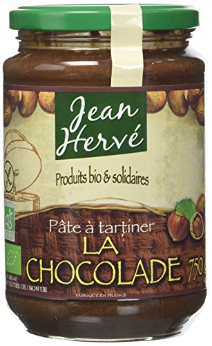 Jean Herve Pate a Tartiner la Chocolade Bio 750 g