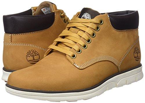 Timberland Bradstreet Leather Sensorflex, Men's Chukka Boots, Yellow Wheat Nubuck, 11.5 UK (46 EU)