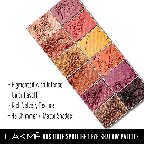 Lakmé Absolute Spotlight Eye Shadow Palette Sundowner 12g best price deals discount offers