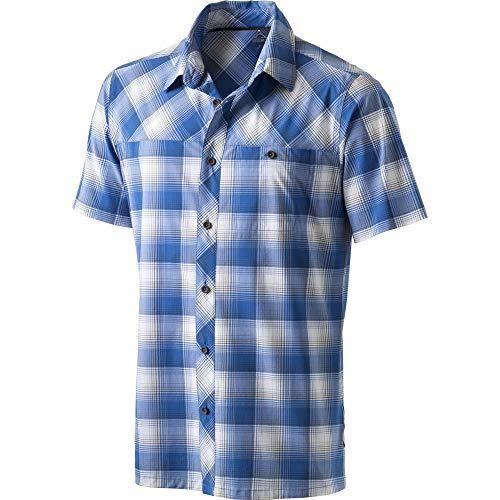 McKINLEY Herren Rodd Hemd, Multicolor/Blue Roya, XXL