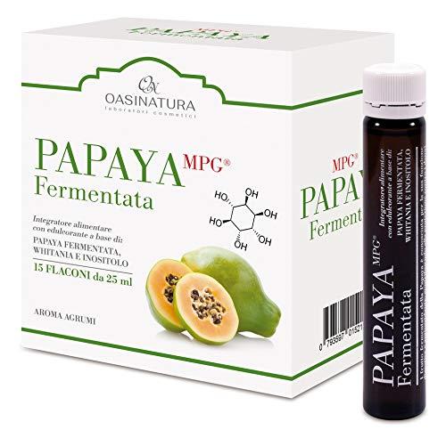 PAPAYA FERMENTATA MGP antiossidante rinvigorente e potenziatore delle difese immunitarie conf. 15 x 25 ml