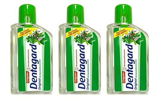 3x Dentagard Original Mundwasserkonzentrat 75ml Naturkräuterextrakt Ohne Alkohol
