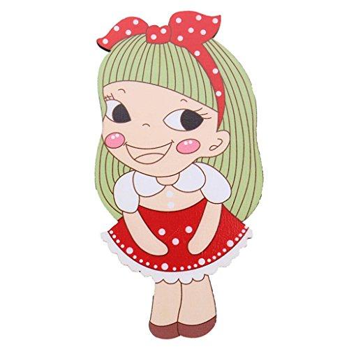 Toygogo Miroir Poche à Main Dessin Animé Mignonne En Bois Miroir Enfants Cosplay - # 5