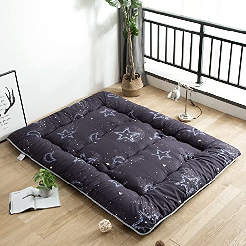 unhg Tatami Colchón Pad Tatami Colchón Cojín Japonés Shiki Futón Colchón Plegable Primeros del Colchón Respirable Portátil Sleeping Pad para Camping,1.2m×2m (47 Inches×78 Inches)
