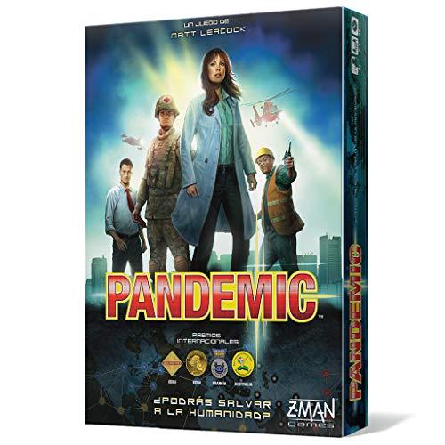 Z-man Games España Pandemic-¡El destino de la humanidad está en vuestras manos, multicolor (ZM7101ES)