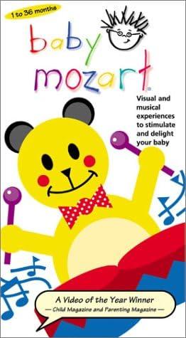 Baby In stock Mozart Dedication VHS