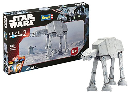 Revell Maqueta Star Wars AT, Easy Kit Modelo, Escala 1:53 (6715)(06715), 37,5 cm de Largo