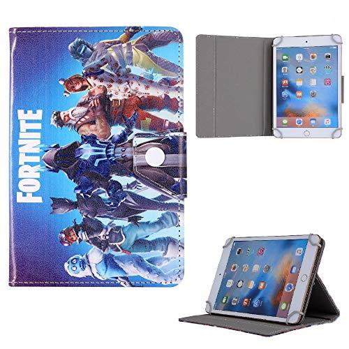 Boys Favorite Kids Tablet Case Fortnite Spiderman Avengers Disney For All Samsung Galaxy Tab S Cover (Samsung Galaxy Tab S4 10.5' T830 T835, Blue Fortnite)