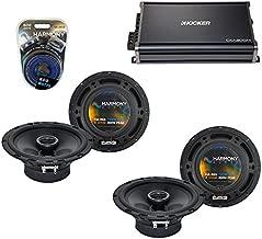 Compatible with Subaru Forester 2009-2013 OEM Speaker Upgrade Harmony (2) R65 & CXA300.4 Amp (Renewed)