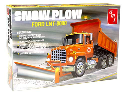 Learn More About AMT Ford LNT-8000 Snow Plow 1:25 Scale Model Kit