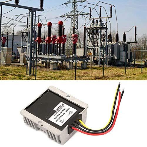 Regulador de voltaje de durabilidad Calidad Premium Boost/Buck Regulador de voltaje Auto Step Up/Down Converter para equipos eléctricos industriales/vehículos (10A)