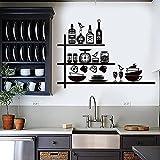 Pegatinas de pared para niños Roombar Utensilios de cocina Chef...