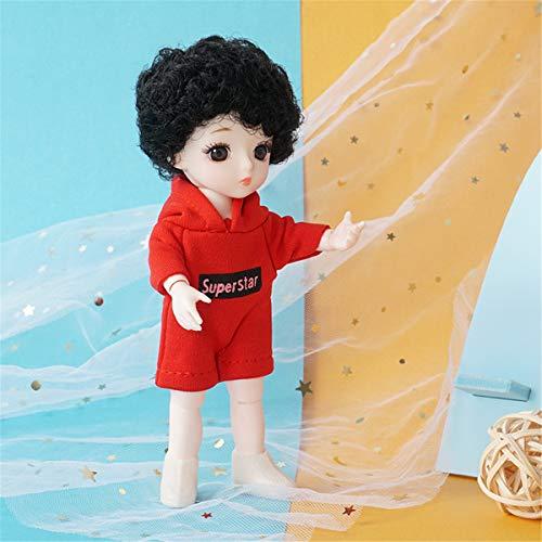 Lius 13 muñecas articuladas movibles 18cm 1/8 Juguetes muñeca Bjd con muñecas...