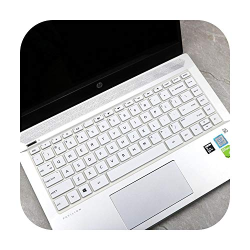 Hopereo 13.3 Inch Notebook Laptop Dustproof Keyboard Cover Protector Skin for Hp Envy 13 X360 13-Ag Ultra-Thin Super Soft Silicone-A-