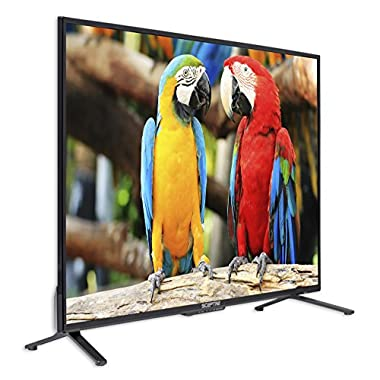 Komodo by Sceptre 43  4K UHD LED TV 4x HDMI 2.0 HDCP 2.2, Metal Black 2018