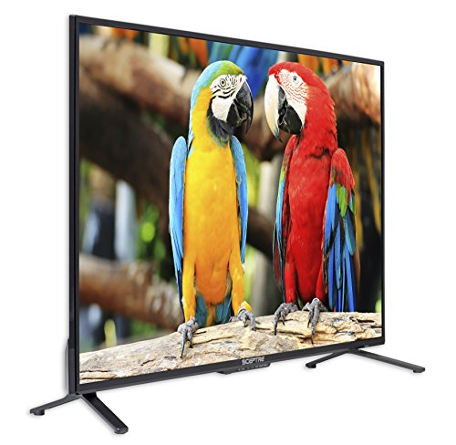 Komodo by Sceptre 43-Inch 4K 3840x2160 UHD LED TV 4X HDMI 2.0 HDCP 2.2, Metal Black