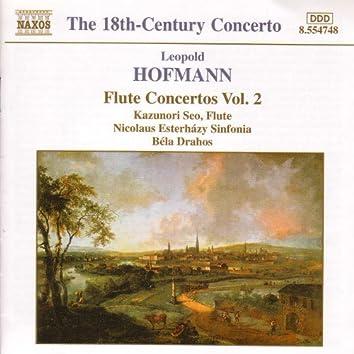 HOFMANN: Flute Concertos, Vol.  2