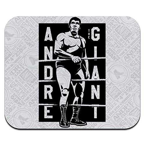 WWE Andre The Giant Stamp - Alfombrilla de ratón, antideslizante, para oficina, portátil, con parte inferior de goma