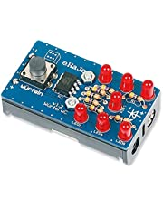 Matches21 - Dados con microcontrolador preprogramado electrónico, kit de manualidades con batería, herramienta de enseñanza para niños a partir de 12 años