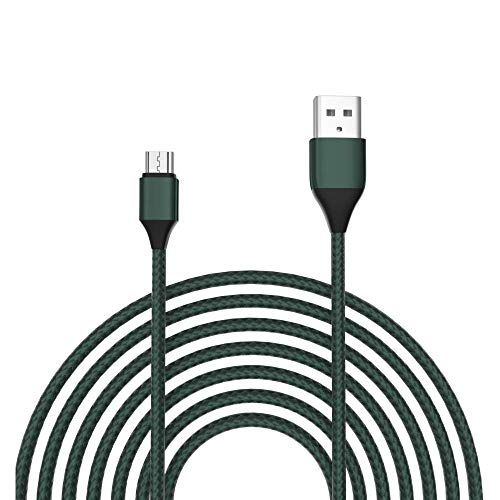 "Olort 2 Pack 6.6 Ft Micro Charging Cable Replacement for Samsung Galaxy Tab A 10.1(2016), Tab A8(2018,2015,2019), Tab A6 7.0"", 9.7"", Tab E, S2, SM-T580/550/387/377/530/560/290/280 Charger Cord"