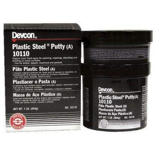 Devcon Plastic Steel Putty (A), 1 lb Can