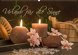 Urlaub für die Sinne (Wandkalender 2020 DIN A2 quer): Professionelle Aufnahmen aus dem Bereich Wellnes, Sauna und Spa bringen Ihnen ein kleines Stück Urlaub für die Sinne. (Monatskalender, 14 Seiten )