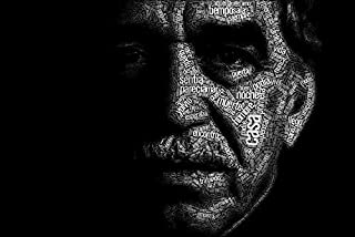 Tomorrow sunny Gabriel Garcia Marquez typography artword Poster Art Wall Pictures for Living Room Canvas fabric cloth Print