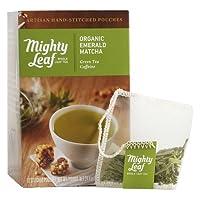 Mighty Leaf (マイティーリーフ) オーガニック エメラルド 抹茶 12袋 【正規輸入品】