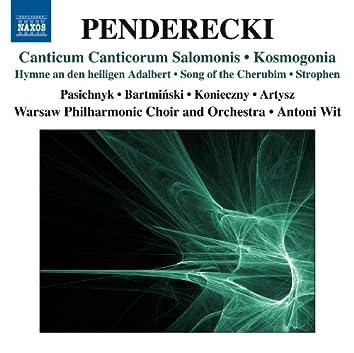 Penderecki: Canticum canticorum Salomonis - Kosmogonia