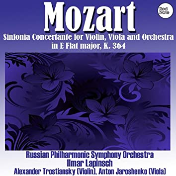 Mozart: Sinfonia Concertante for Violin, Viola and Orchestra in E Flat major, K. 364